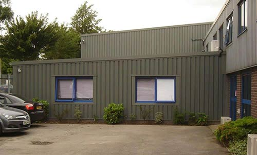 Commercial Construction Property Extension